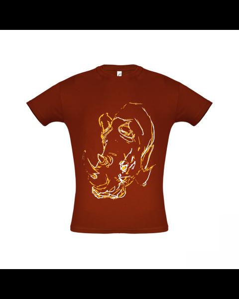 RHINO Work T-Shirt (659A) Maroon
