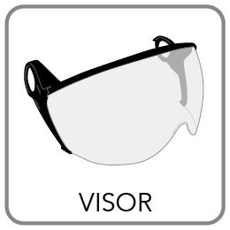 kask zenith visor